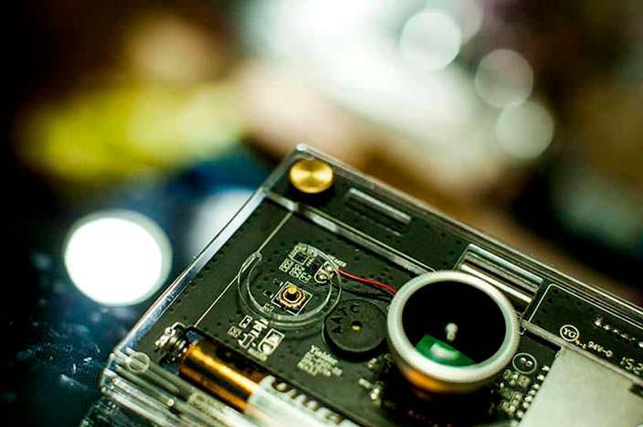 Объектив с эффектом рыбий глаз для фотоаппарата CROZ
