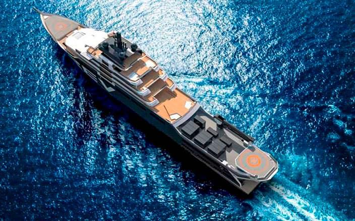 Научно-экспедиционное судно REV от компании Espen Oeino