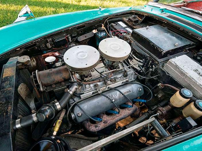3,2-литровый двигатель V8 на 150 л.с. BMW 507