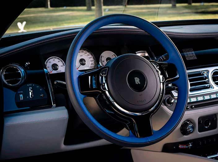 Руль Rolls-Royce Wraith Busan Edition