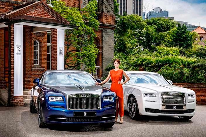 Rolls-Royce Ghost Seoul и Wraith Busan
