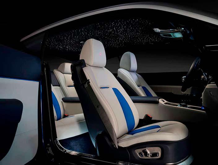 Фото салона Rolls-Royce Wraith Busan Edition