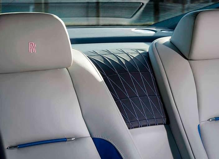 Сиденья Rolls-Royce Wraith Busan Edition