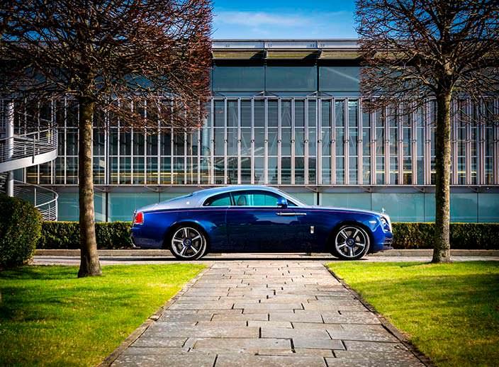 Купе Rolls-Royce Wraith Busan Edition для Южной Кореи