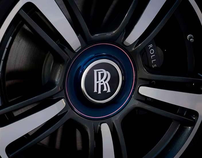 Колеса Rolls-Royce Wraith Busan Edition