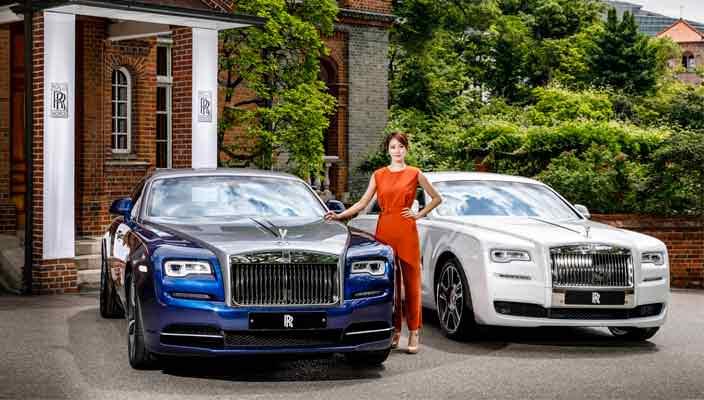 Rolls-Royce создал спецверсии Ghost и Wraith для Южной Кореи