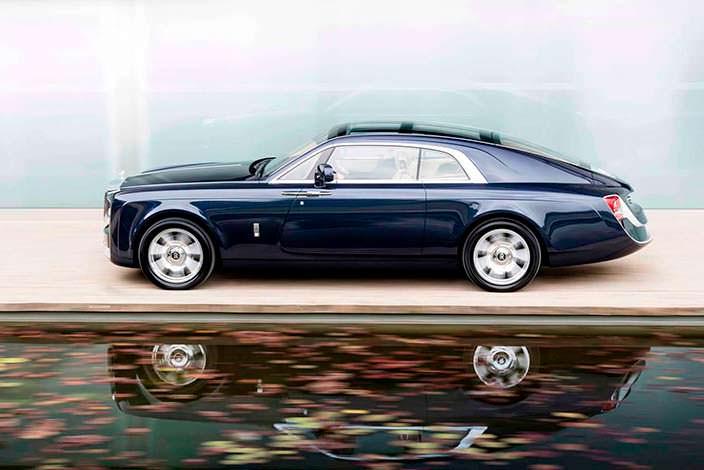 Купе Rolls-Royce Sweptail: стоимость почти $13 млн