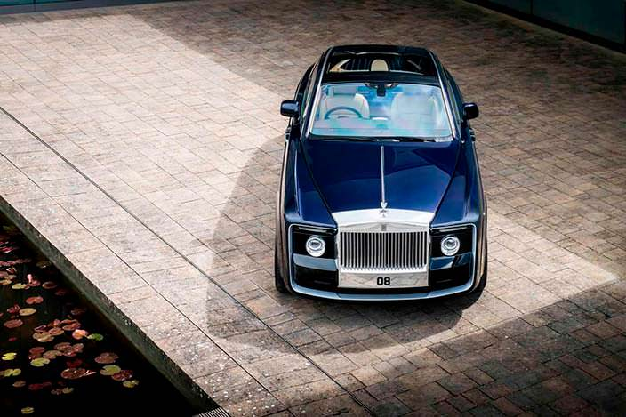 Купе Rolls-Royce Sweptail: экземпляр 1 из 1