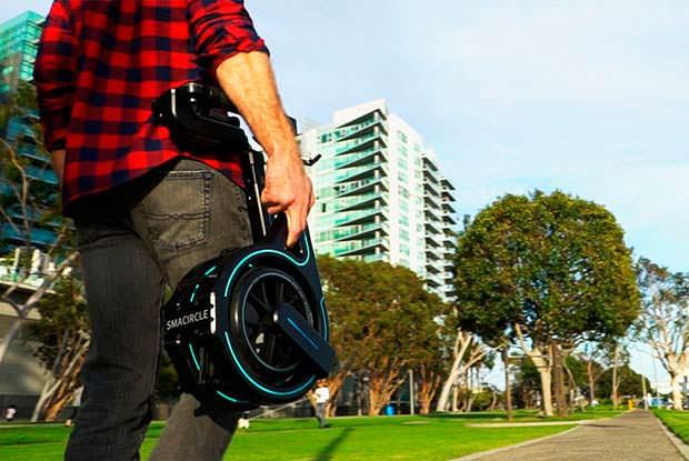 Smacircle S1: самый легкий электро-велосипед в мире