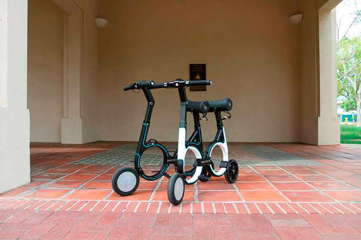 Электро-велосипед Smacircle S1: вес только 7 кг