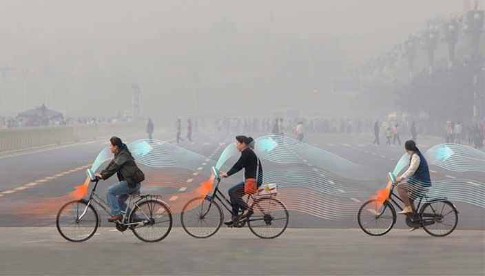 Studio Roosegaarde решит проблему смога с помощью велосипеда