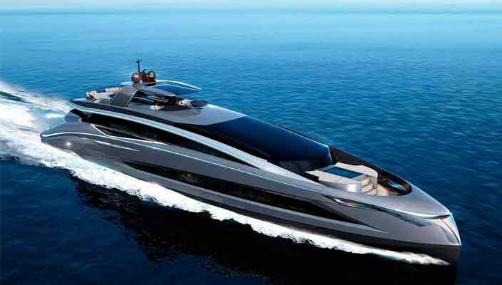 Italian Sea Group раскрыла дизайн яхты Tecnomar Evo 115 | фото