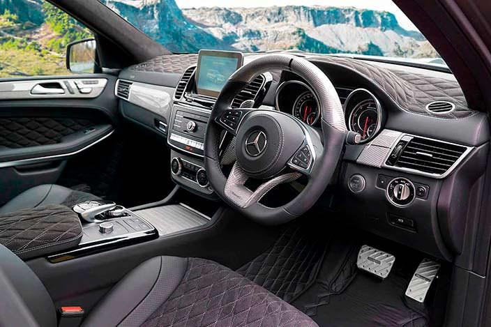 Фото | Салон Mercedes-AMG GLS 63. Тюнинг от Mansory