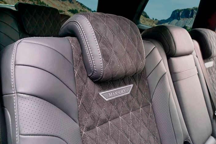 Сиденья Mansory для Mercedes-AMG GLS 63