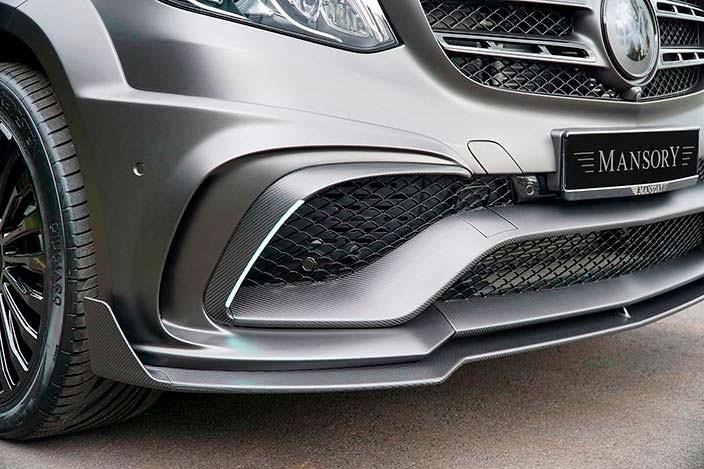 Новый передний бампер Mercedes-AMG GLS 63 от Mansory