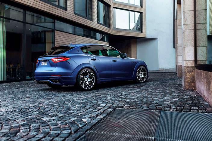Фото | Тюнингованный Maserati Levante Esteso. Тюнинг Novitec