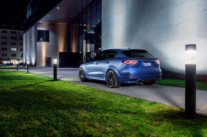 Фото | Кроссовер Maserati Levante Esteso. Тюнинг Novitec
