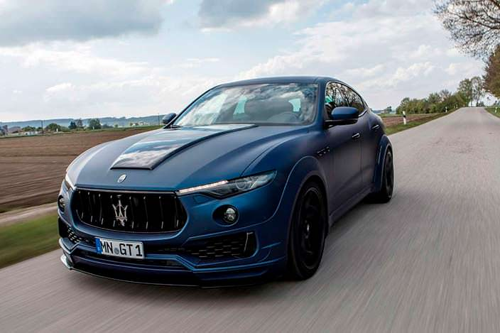 Фото | Тюнинг Maserati Levante Esteso от Novitec