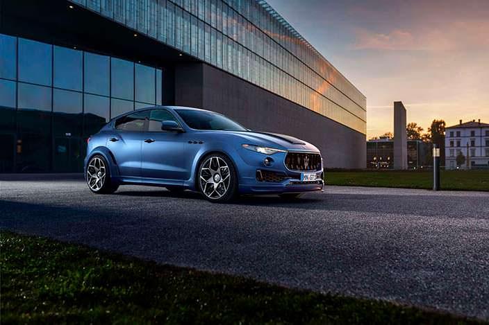 Кроссовер Maserati Levante в обвесе Esteso от Novitec