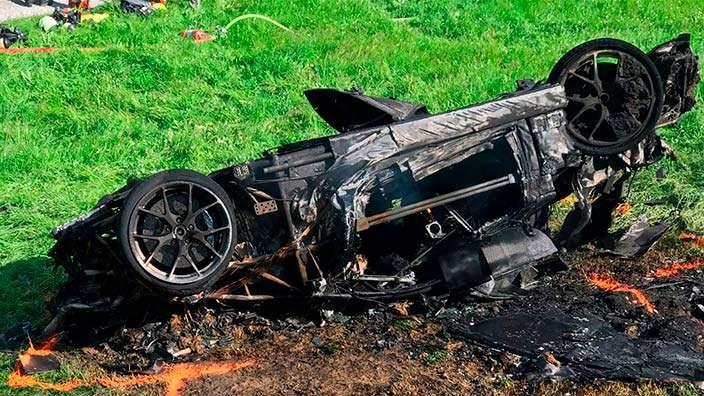 Фото | Уничтоженный суперкар Rimac Concept One