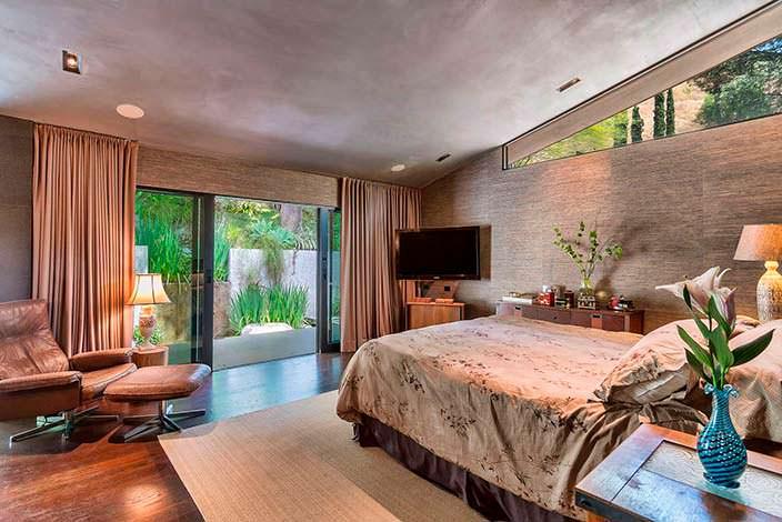Хозяйская спальня в доме Джона Ледженда