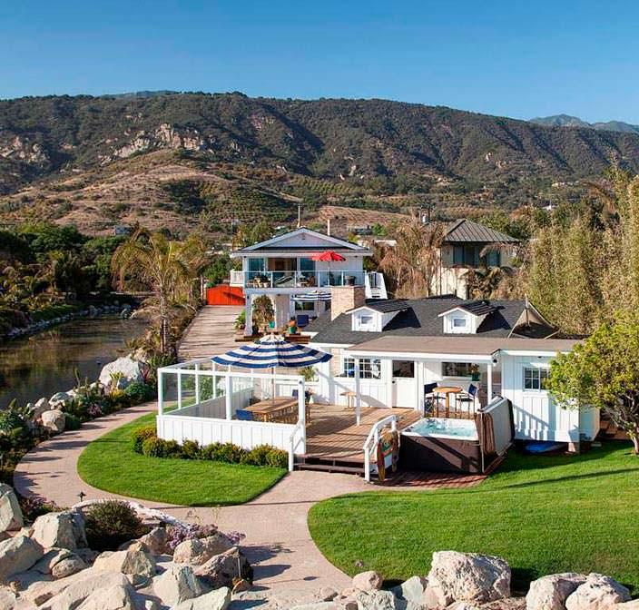 Пляжный дом в Санта-Барбаре за $10 млн