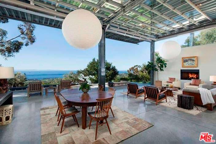 Ультрасовременный дизайн интерьера дома Натали Портман