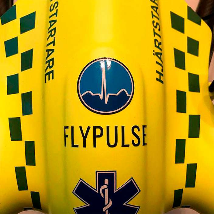 Flypulse: дрон с дефибриллятором в 4 раза быстрее неотложки