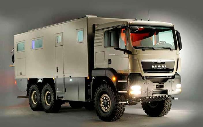Action Mobil XRS 7200: экспедиционный автомобиль с гаражом