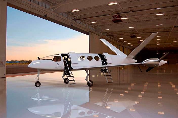 Первый в мире электрический самолет Eviation Alice