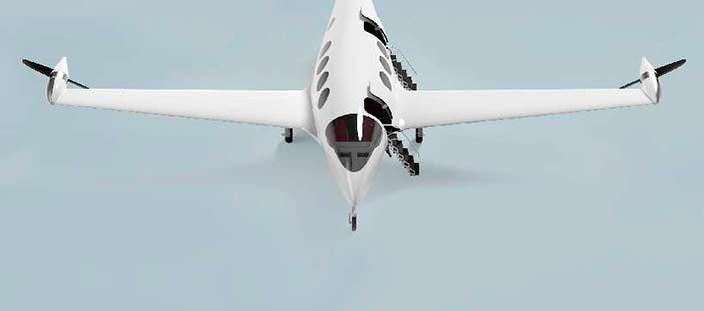 Электрический самолет Eviation Alice: вес 5 900 кг