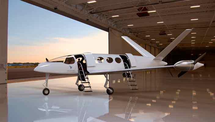 Eviation Aircraft показала электрический бизнес-джет Alice