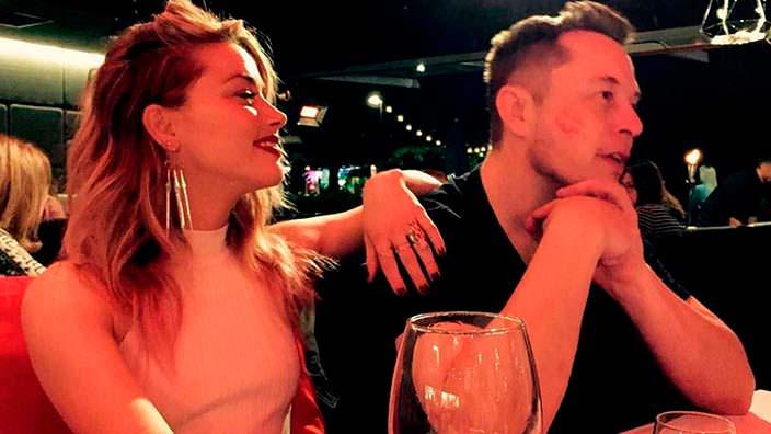 Эмбер Херд и Илон Маск, фото с Instagram актрисы