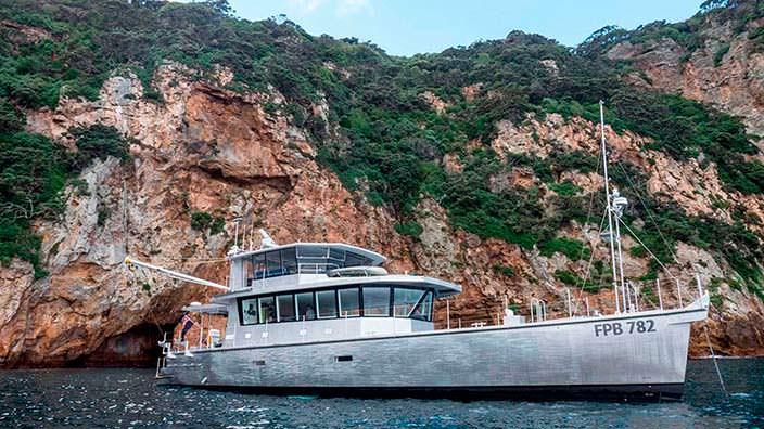 Исследовательская яхта Grey Wolf II от Circa Marine