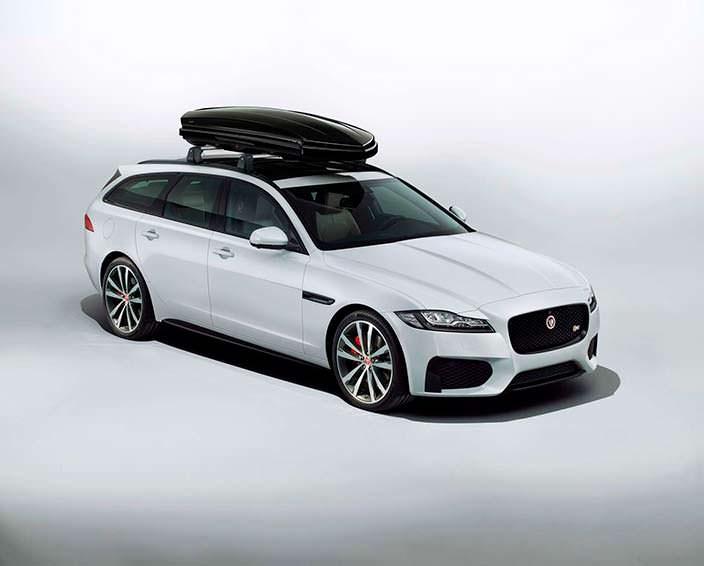 Универсал Jaguar XF Sportbrake с багажником на крыше