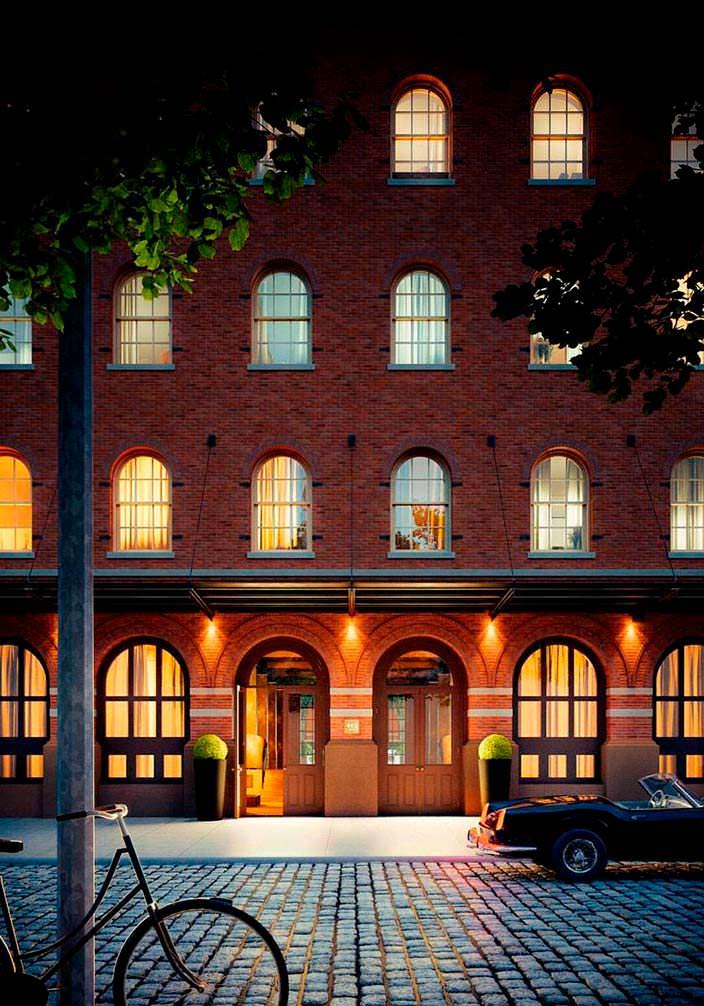 Элитный ЖК 443 Greenwich Street в бывшем промышленном здании
