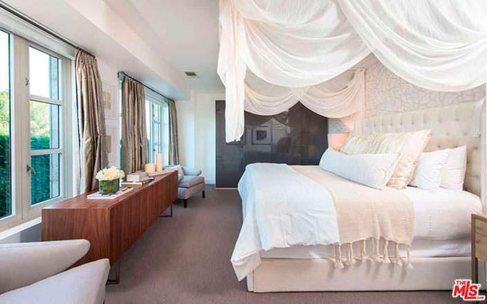 Дизайн спальни Кендалл Дженнер в кондоминиуме ЖК The Wilshire