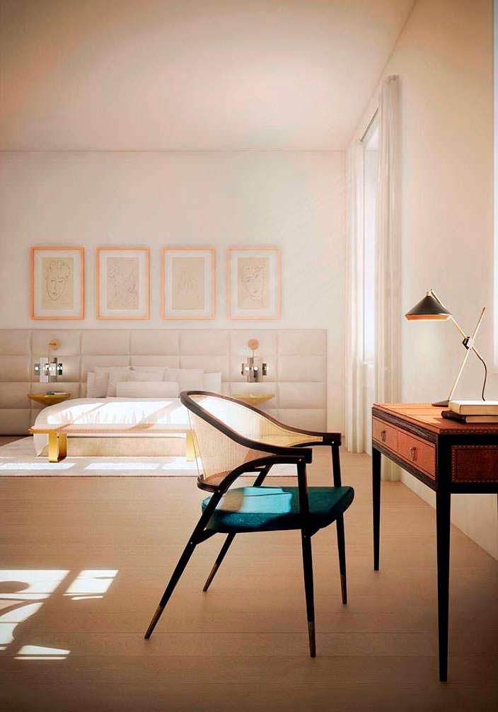 Дизайн интерьера квартиры в здании 443 Greenwich Street