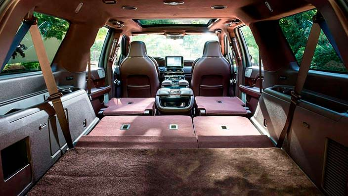 Ровный пол багажника Lincoln Navigator Extended Length