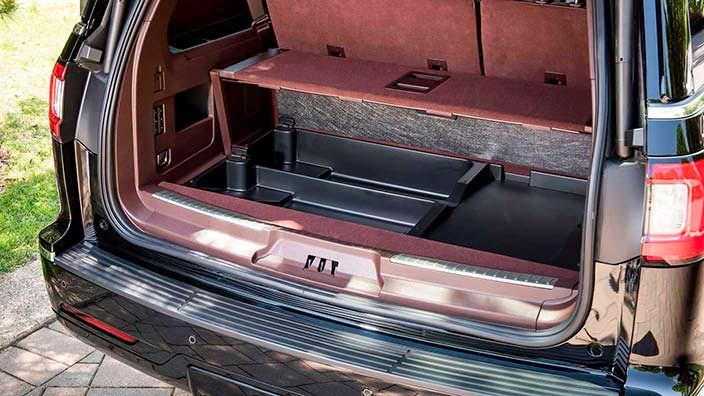 Конфигурации багажника Lincoln Navigator Extended Length
