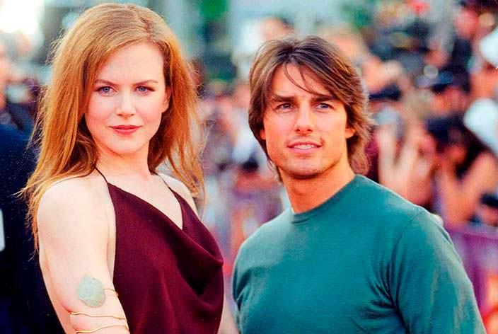 Фото | Супруги Николь Кидман и Том Круз в конце 1990-х