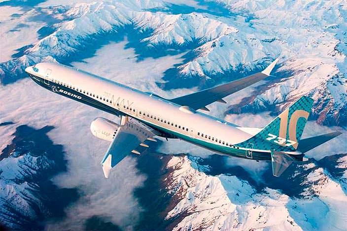 Boeing 737 MAX 10: крылья измененной конструкции