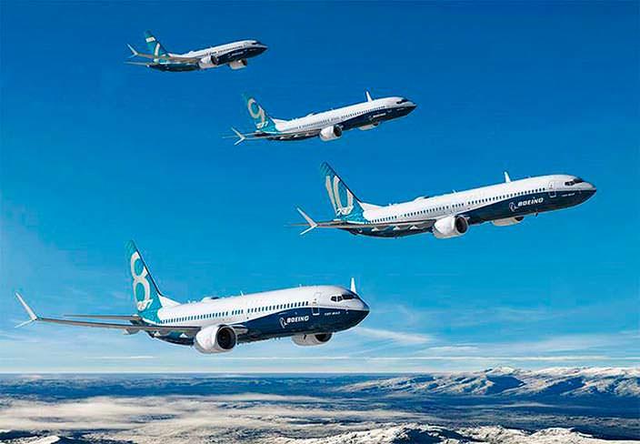 Самолет Boeing 737 MAX 10: новейший член семьи 737 MAX
