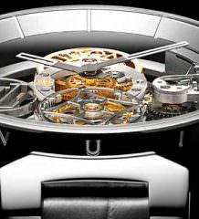 Модный дом Louis Vuitton показал часы-скелетоны с турбийоном