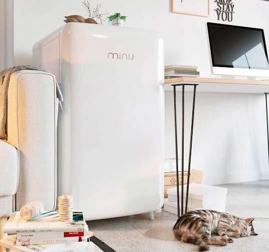 Стильный ретро-холодильник MIJIA Mini J Retro от Xiaomi