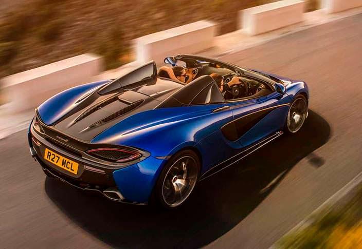 McLaren 570S Spider: шасси из углеродного волокна