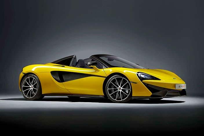 McLaren 570S Spider: цена от £164 750