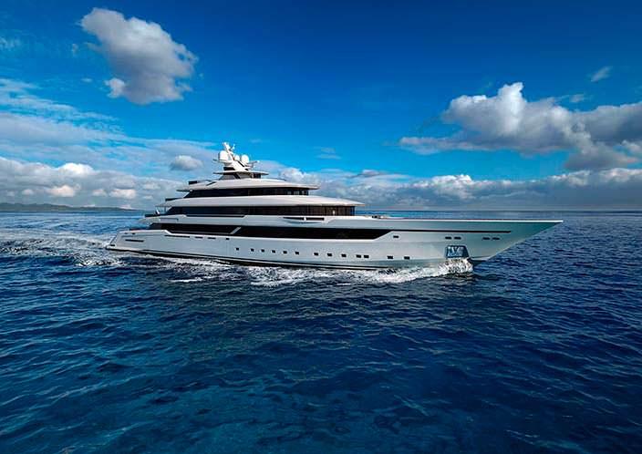 Самая большая яхта Columbus Yachts за 50-летнюю историю верфи