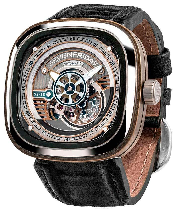 Швейцарские часы SevenFriday S2/01: механизм Miyota 82S5