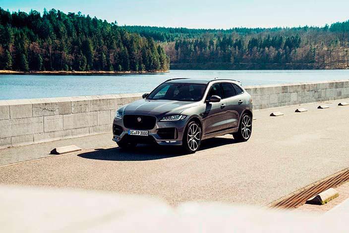 Новый Jaguar F-Pace в 2017 году. Тюнинг от AC Schnitzer
